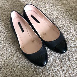 Black Zara Ballet Flats